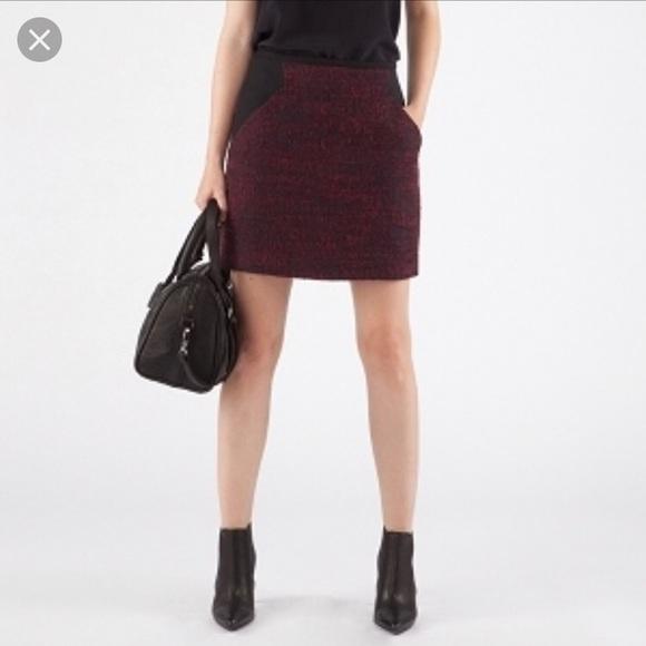Comptoir Des Cotonniers Dresses & Skirts - New Comptoir des Cotonniers burgundy skirt 40